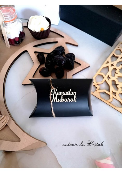 Décoration en bois Ramadhan ou Eid Mubarak
